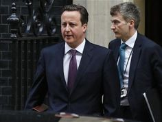 Algeria crisis forces British PM to delay Europe speech - Britain's Prime Minister David Cameron leaves Downing St in central London