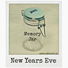 New Years Eve Memory Jar