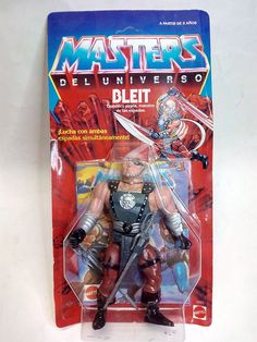 MASTERS DEL UNIVERSO - BLEIT - MOTU - MOC- SPANISH - NEW- SEALED | eBay