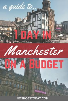 Manchester is the perfect budget friendly one-day destination. It's a fantastic city full of history, food and stunning architecture. Europe Travel Tips, Travel Goals, Travel Guides, Travel Uk, Travel Fashion, Budget Travel, Europe Holidays, England And Scotland, By Train