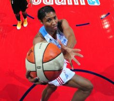 Olympian Angel McCoughtry played at UofL before being drafted first by Atlanta Dream.