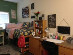 The day finally came! University of Houston Dorm complete! Victoria Secrets turned out so cute! Mason jars for supplies are adorable! I made those for her to match linens. She is on her way!