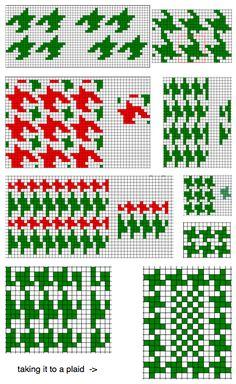1000+ images about Pied de Poule on Pinterest Knit stitches, Houndstooth co...
