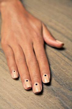 Простой маникюр, легкий маникюр - фото, красивые идеи дизайна ногтей | Picvil.ru