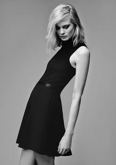Little black dress - chic style; modern sophistication // Reiss Riviera