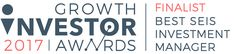 Startup Funding Club named as a finalist at 2017 Growth Investor Awards Startup Funding
