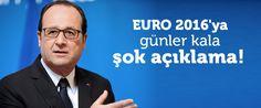 Fransa Cumhurbaşkanı Hollande, 10 Haziran'da başlayacak Avrupa Futbol Şampiyonası'nın güvenliğine yönelik tehdidin sürdüğünü söyledi.