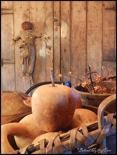 Prim scarecrow...