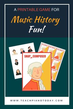 Easy to play... lots of music history goodness! Free printable and instructions found here.
