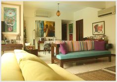 Anupama Gupta's home in SIngapore  -blogged on http://theeastcoastdesi.blogspot.com/2014/12/the-homey-home-home-tour.html