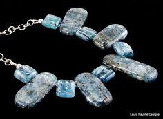 Ocean Blue Kyanite by laurapaulinedesigns