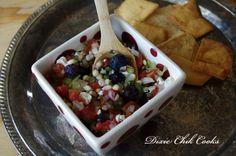 Delicious Blueberry Bleu Salsa   BeBetsy