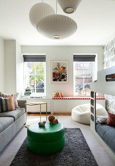 Moderne Wohnungseinrichtung im Landhaus-Stil - das Wohnzimmer ...