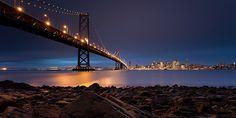 City lights :) #SanFrancisco #BayBridge
