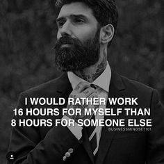 Couldn't agree more! Why work for someone else's dreams when you can work for your own?  Via @businessmindset101  #motivation #money #inspiration #entrepreneur #igdaily #igers #billionaire #millionaire #billions #instagood #instadaily #passion #quotes #dailymotivation #dailyquotes #startup #ceo #boss #follow #success #model #loyalty #faith #wealth #wealthy #selfmade #picoftheday #love #new #dream