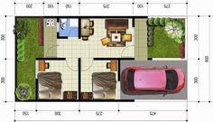 sketsa-rumah-sederhana-type-36-modern