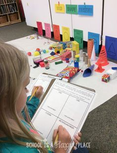 Lesson plan on shapes for kindergarten @ solid shape museum shape museum freebie Geometry 2nd Grade Activities, 3d Shapes Activities, 1st Grade Math, Grade 2, 3d Shapes Kindergarten, Teaching Shapes, Kindergarten Activities, Toddler Activities, Teaching Kids