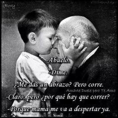 This made me tear up. So precious. Para ti abuelito Pancho ♡