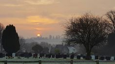 Ruabon at sunrise