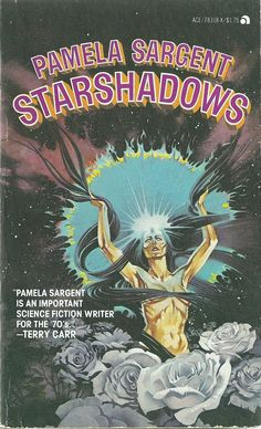 Pamela Sargent - Starshadows 1977 Edition Book Cover by Paul Alexander