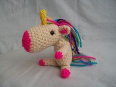 Crochet Unicorn.