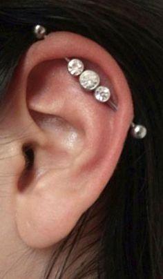 Green 5mm End Balls BodySparkle Body Jewelry Double Jeweled Industrial Barbell Piercing Earring 14g 1 /& 1//2 inch-38mm Dk