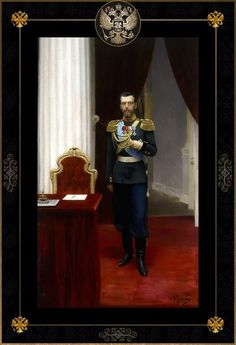 Father of Alexei - Nicholas II. - as a young sovereign posing in his workoffice. Familia Romanov, House Of Romanov, Alexandra Feodorovna, Tsar Nicholas Ii, Imperial Russia, Christianity, Royals, History, Father