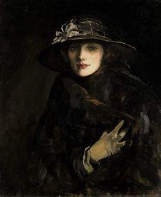 Lady Gwendoline Churchill by John Lavery