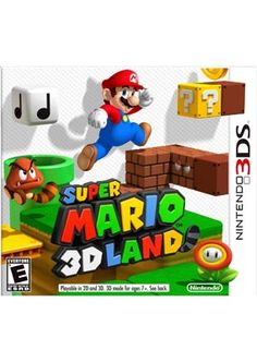 Super Mario 3D Land (have, and it is my favorite 3DS game)