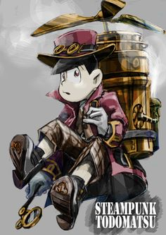 AU Steampunk (Osomatsu-San) Todomatsu