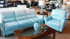 khaki and aqua living room - Google Search Wood Detail, Painting Leather, Leather Pieces, Living Room Colors, Florida Home, Sofa Set, Leather Sofa, Love Seat, Flare