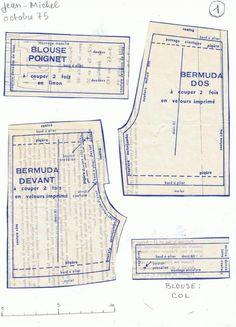 Ken shorts from: PAR AMOUR DES POUPEES :: M&T 1975-10 Tenues habillées pour les garçons