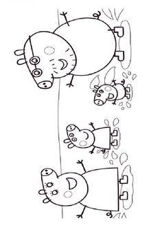 coloriage peppa pig httpwwwcoloriagepequescuelacom