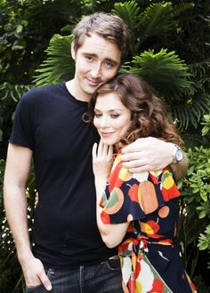 "Lee Pace and Anna Friel promoting ""Pushing Daisies"" in Los Angeles, CA. September 18, 2008"