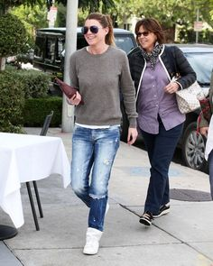 Ellen Pompeo Out and About with Friends