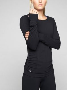 Look amazing on the court or course in women's golf clothes and tennis apparel from Athleta. Browse the latest selection of women's golf apparel today. Running Shirts, Workout Shirts, Workout Outfits, Running Apparel, Fitness Apparel, Fitness Gear, Workout Tops For Women, Athletic Women, Fit Women