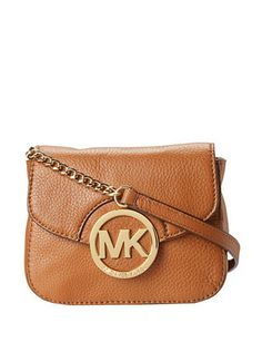 Michael Michael Kors Fulton Small Leather Crossbody