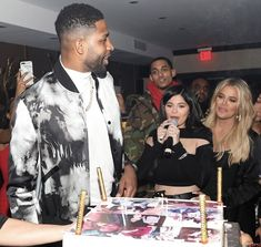 Tristan's birthday party in LA - March 10, 2018