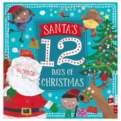 Buy Story Book Santa's 12 Days of Christmas by Make Believe Ideas Ltd, 9781786923585 from Booksplea.