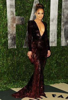 Jennifer Lopez in Zuhair Murad at the 2012 Vanity Fair Oscar Party