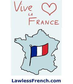 "Vive la France ! ""Long live France!""   https://www.lawlessfrench.com/expressions/vive-la-france/  #vivelafrance #france #frenchexpression #learnfrench #fle #french"