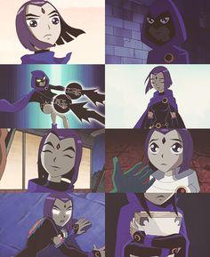Teen Titans Raven lol cute