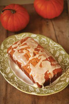 Glazed Pumpkin Loaf Recipe