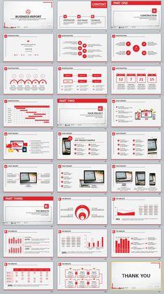 27+ Red business design powerpoint templates | PowerPoint Templates and Keynote Templates Design Powerpoint Templates, Professional Powerpoint Templates, Powerpoint Themes, Keynote Template, Infographic Powerpoint, Footer Design, Web Design, Slide Design, Design Art