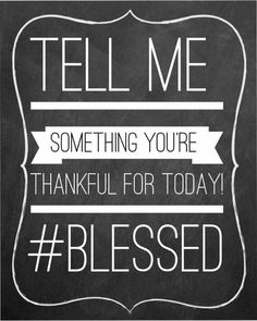 What are you thankful for?  PureRomance.com/BethTemple