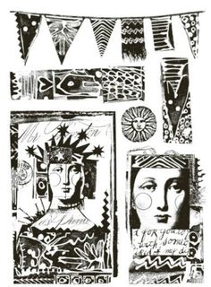Paper Artsy - Lynne Perrella Cling Mounted Rubber Stamp Set - 005,$25.99