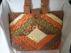 Fall Colors Large Tote Bag by JDCreativeHands on Etsy,