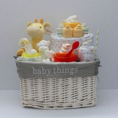 baby shower gift baskets ideas