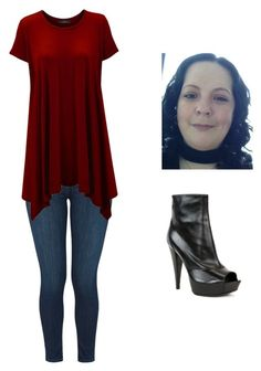 """""""Day style"""" by jill-hubbard on Polyvore featuring J Brand and Sergio Rossi"""