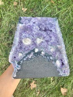 Amethyst Geode (Item 5) Amethyst Geode, Amethyst Cluster, Crystal Meanings, Large Crystals, Third Eye, How To Know, Contentment, Creative, Spirituality